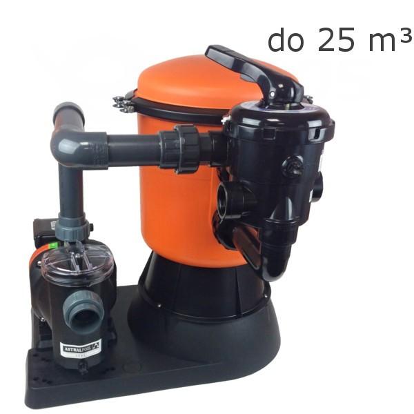 Bazénová písková filtrace Bilbao 350S- 5m3/ hod