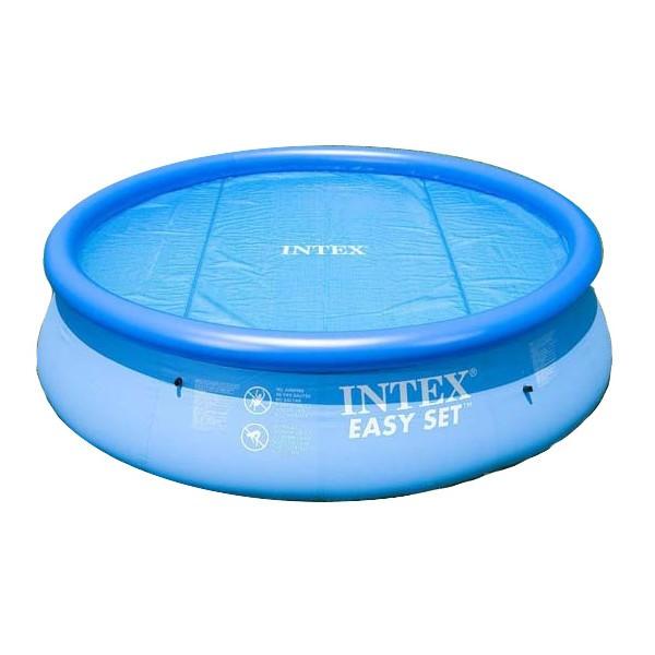 Solární plachta Intex na nadzemní bazény 457 cm