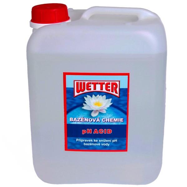 pH minus do bazénu tekuté 5 litrů