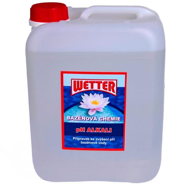 pH plus do bazénu tekuté balení 5 litrů