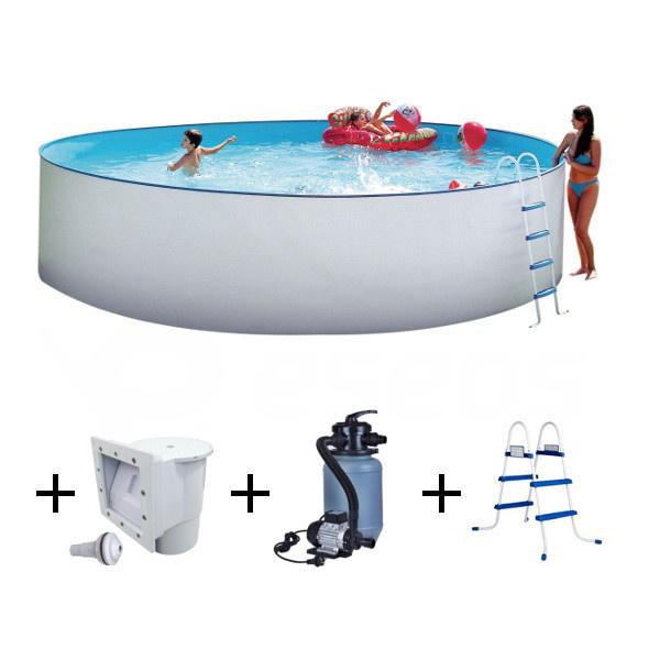 Nadzemní bazén Nuovo 3,5 x 1,2 m s pískovou filtrací