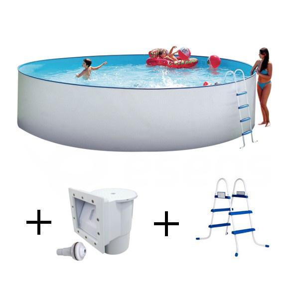 Nadzemní bazén Nuovo 4,5 x 1,2 m s příslušenstvím