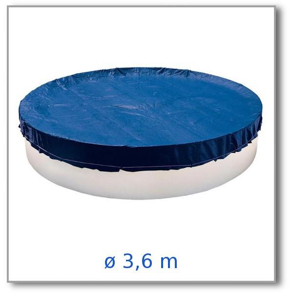 Lehká krycí plachta na bazén 3,6 m