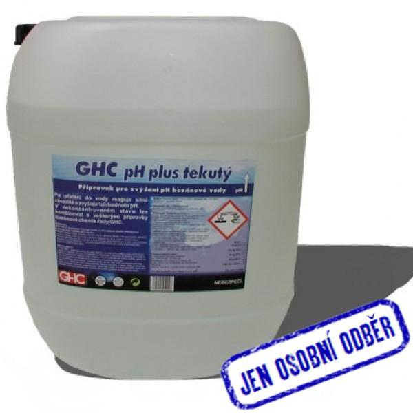 GHC pH plus tekutý 30 litrů pouze na osobní odběr