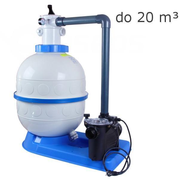 Bazénová filtrace Granada Kit 400, 4 m3 horní ventil