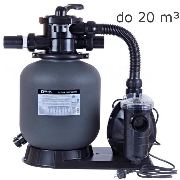Písková filtrace Brilix FSP 350 4 m3/hod