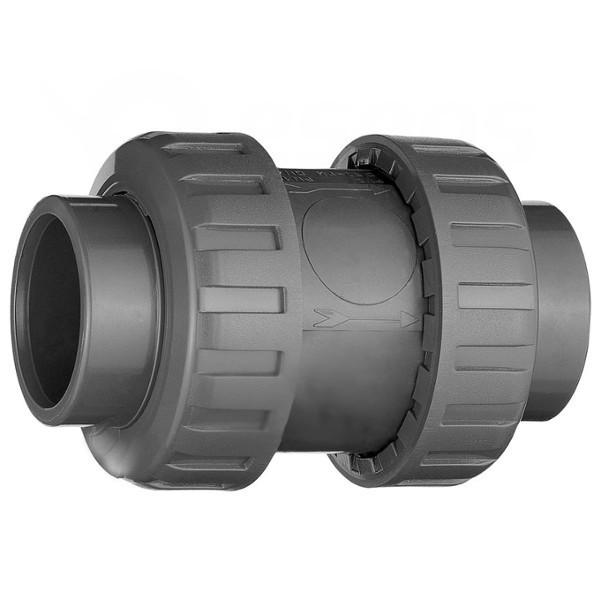 Zpětná klapka PVC 50 mm lepení/lepení