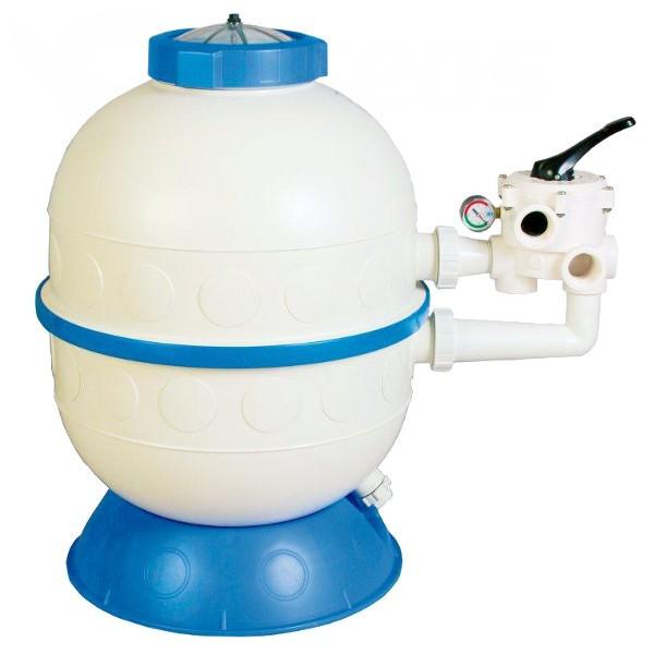 Filtrační nádoba Granada 500, 9,5 m3/h, boční ventil