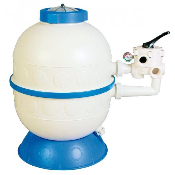 Filtrační nádoba Granada 600, 14 m3/h, boční ventil