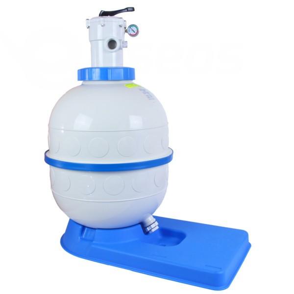 Filtrační nádoba Granada 400, 6 m3/h, horní ventil