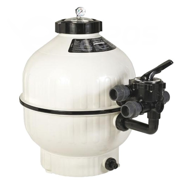 Filtrační nádoba Cantabric 500, 9 m3 boční ventil