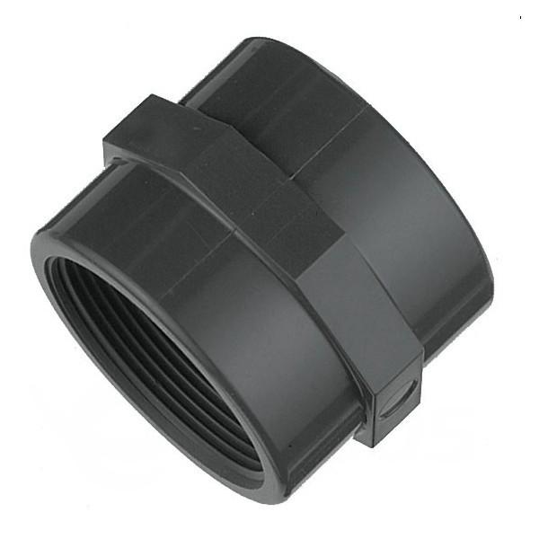 """Spojka – nátrubek PVC 50 mm lepení/vnitřní závit 1 1/2"""""""