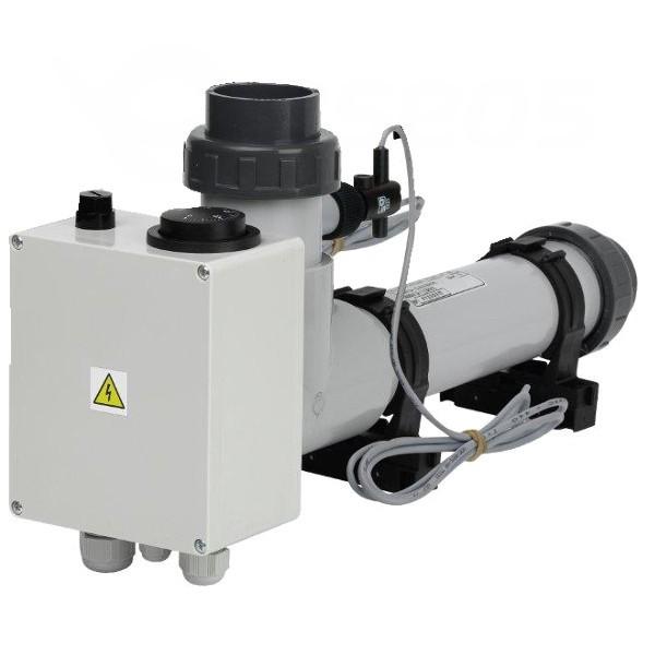 Topení EOVp-3, 3 kW, 230 V, plast s klapkou