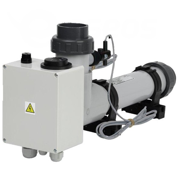 Topení EOVp-9, 9 kW, 400 V, plast s klapkou