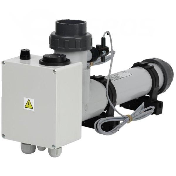 Topení EOVTi-12, 12 kW, 3 x 230 V, Titan s klapkou