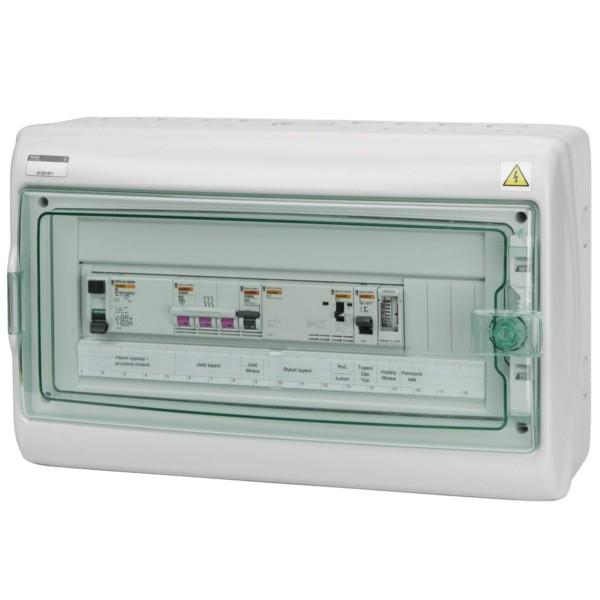 Automatické ovládání pro filtraci/topení - F1E18
