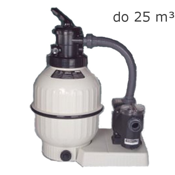 Písková filtrace Cantabric 400 6m3/h TOP ventil