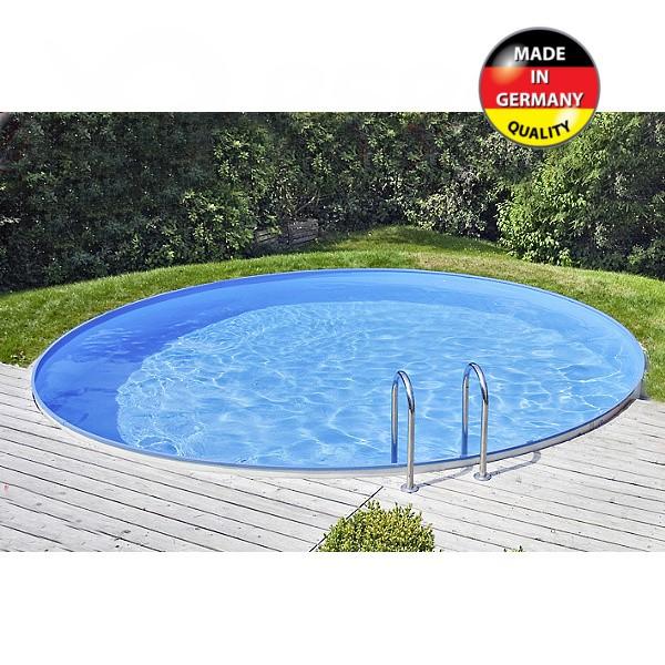 Zapuštěný bazén TREND 400 kruh 4 x 1,1 m