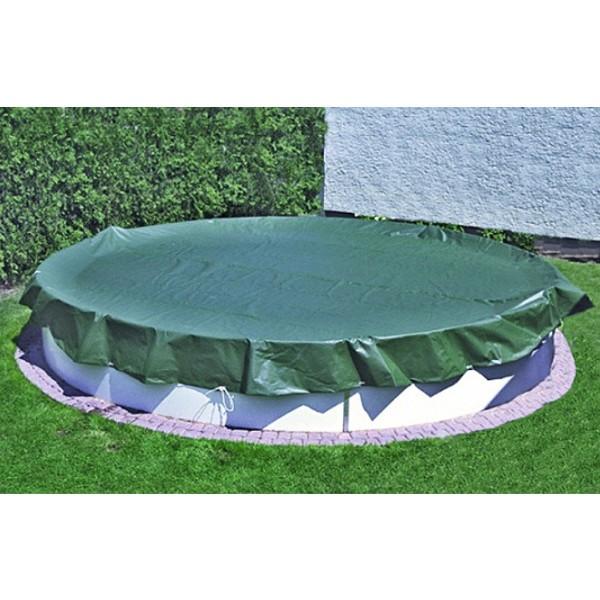 Plachta na bazén průměru 4,0 - 4,3 m