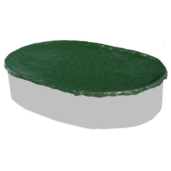 Plachta na bazén pro ovál,  5,0 x 3,0 m