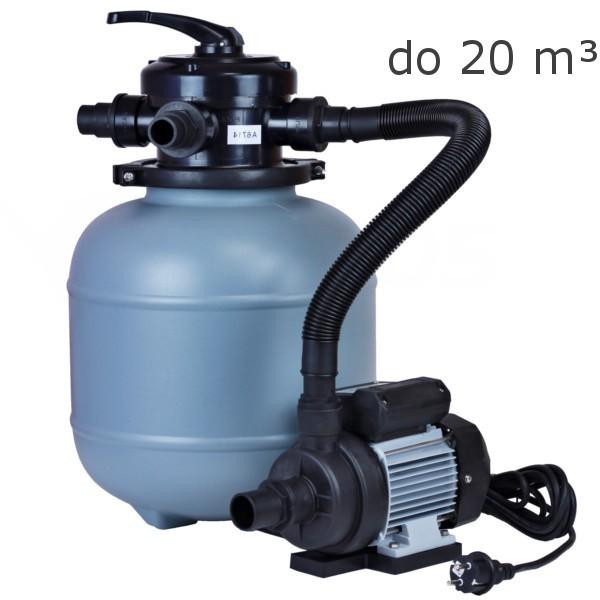 Písková filtrace MyPool 330, 4 m3/hod