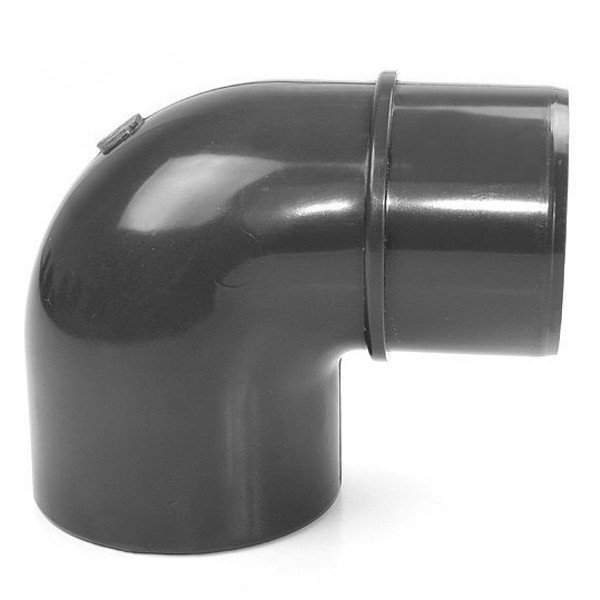 Koleno 90° PVC 63 x 50 mm lepení/lepení